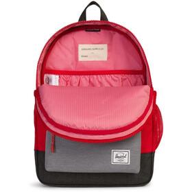 Herschel Heritage rugzak Kinderen grijs/rood